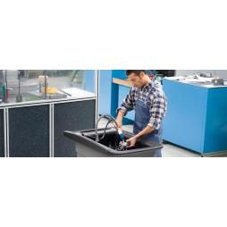 Karcher HKF 200 C, 3x 380 V / 50 Hz,                  90 bar'da 8.000 l/s, 95°C ye kadar