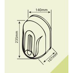 Xinda XDQ110 Fotoselli Dezenfektan Dispenseri 1100 ml Beyaz